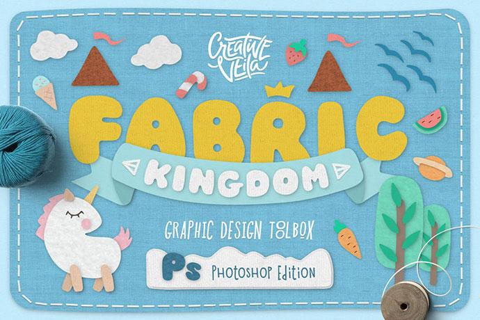 Edición de Photoshop de Fabric Kingdom