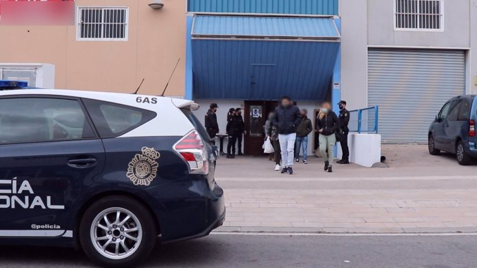 Agentes de la Policía Nacional descubren una fiesta ilegal